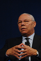 WORLD BUSINESS FORUM 2007 NELLA FOTO IL SEGRETARIO DI STATO AMERICANO COLIN POWELL ECONOMIA MILANO 23/10/2007 FOTO MATTEO BIATTA<br /> <br /> WORLD BUSINESS FORUM 2007 IN THE PICTURE SECRETARY OF STATE OF UNITED STATES OF AMERICA COLIN POWELL ECONOMY MILANO 23/10/2007 PHOTO BY MATTEO BIATTA