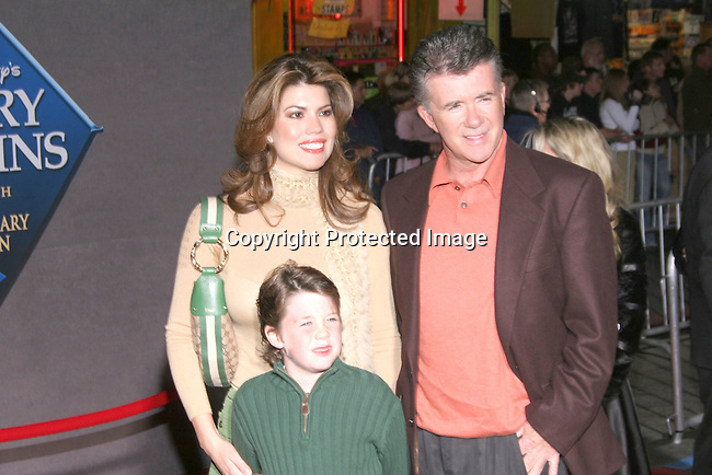 Alan Thicke (right) &amp; family<br />