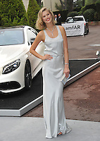 Model Toni Garrn  at the 21st annual amfAR Cinema Against AIDS Gala at the Hotel du Cap d'Antibes.<br /> May 22, 2014  Antibes, France<br /> Picture: Paul Smith / Featureflash