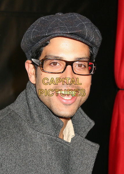 "ADAM RODRIGUEZ.Premiere Party for MTV's ""Yo Momma"" at Privilege, Hollywood, California, USA..Macrh 20th, 2006.Photo: Byron Purvis/AdMedia/Capital Pictures.Ref: BP/ADM.headshot portrait glasses grey gray hat.www.capitalpictures.com.sales@capitalpictures.com.© Capital Pictures."