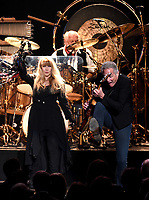 NEW YORK - JANUARY 26: Stevie Nicks, Mick Fleetwood, and Lindsey Buckingham of Fleetwood Mac appear at the 2018 MusiCares Person of the Year honoring Fleetwood Mac at Radio City Music Hall on January 26, 2018 in New York City. (Photo by Frank Micelotta/PictureGroup)
