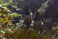 Europe/France/Auvergne/12/Aveyron/Conques: L'abbatiale Sainte-Foy (XIème)
