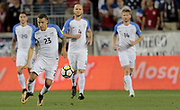 Harrison, N.J. - Friday September 01, 2017:   Fabian Johnson during a 2017 FIFA World Cup Qualifying (WCQ) round match between the men's national teams of the United States (USA) and Costa Rica (CRC) at Red Bull Arena.
