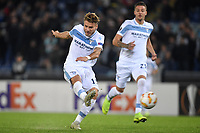 A shot of Ciro Immobile of Lazio during the Uefa Europa League 2018/2019 football match between SS Lazio and Marseille at stadio Olimpico, Roma, November, 08, 2018 <br />  Foto Andrea Staccioli / Insidefoto