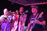 Generic Eric: Ed Dangerous, Trumpet Man Dan, Uncle Ben,  Barnboppers and Shuddervision, Ska-lloween Gig 29 October 2011 The Wagon and Horses, Digbeth,