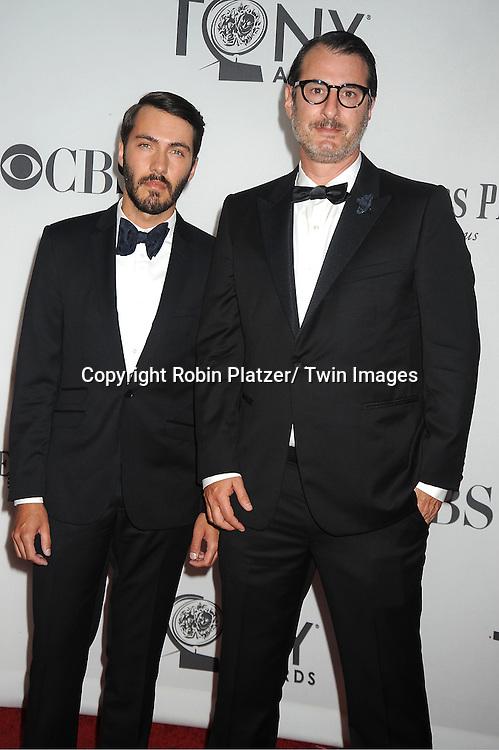 Jon Robin Baitz attends th 66th Annual Tony Awards on June 10, 2012 at The Beacon Theatre in New York City.