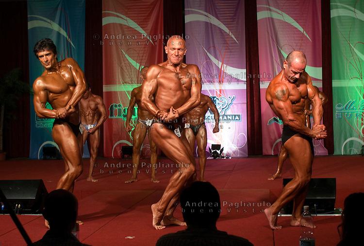 Milano, Italia, 2010.Campionato europeo della Musclemania..Milan, Italy; 2010.European championship musclemania..© Andrea Pagliarulo.