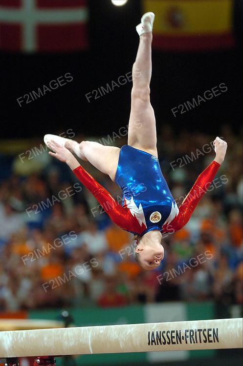 April 2007.European Championships in Amsterdam. Individual Apparatus Finals.<br /> Photos Alan Edwards&copy;