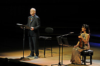 LONDON, ENGLAND - JUNE 4: Bill Murray performing his debut album 'New Worlds' at Royal Festival Hall on June 4, 2018 in London, England.<br /> CAP/MAR<br /> &copy;MAR/Capital Pictures