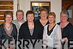 Having a ball at the Glenflesk ladies GAA 25th anniversary celebrtions in Darby O'Gills Killarney on Friday night were l-r: Teresa Moynihan, anne O'Sullivan, Maura O'Sullivan, Phil Cronin, Rosemarie Lynch and Breda Moynihan   Copyright Kerry's Eye 2008