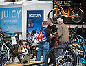 27/09/18<br /> <br /> ***Free photo for social media use***<br /> <br /> Juicy Neomouv stand at the Cycle Show, NEC, Birmingham<br /> <br /> <br /> All Rights Reserved, F Stop Press Ltd. (0)1335 344240 +44 (0)7765 242650  www.fstoppress.com rod@fstoppress.com
