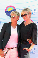 UNIVERSAL CITY, CA - JULY 22: Ellen DeGeneres and Portia de Rossi at the 2012 Teen Choice Awards at Gibson Amphitheatre on July 22, 2012 in Universal City, California. &copy; mpi28/MediaPunch Inc. /NortePhoto.com*<br />