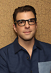 Zachary Quinto attend Broadway's 'Boys in the Band' hosted Midnight Performance of 'Three Tall Women' to Honor Director Joe Mantello at the Golden Theatre on May 17, 2018 in New York City.