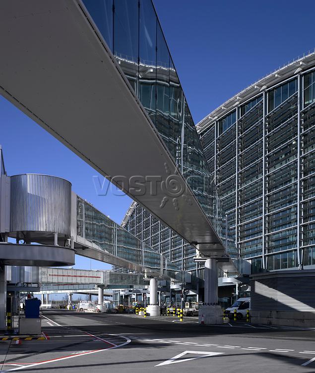 Terminal 5, Heathrow Airport, London.