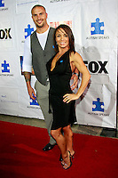 Andrew McLaren and Nita Marquez.at the Autism Speaks' 7th Annual 'Acts Of Love' Benefit held in.Santa Monica, California .3 October 2009