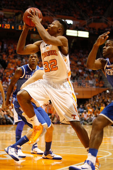 Scotty Hopson takes a shot in the first half of the game on Sunday, March 6, 2011, at Thompson-Boling Arena.  Photo by Latara Appleby | Staff