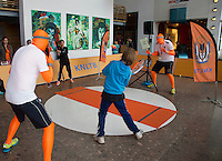 15-sept.-2013,Netherlands, Groningen,  Martini Plaza, Tennis, DavisCup Netherlands-Austria, 30 seconds game<br /> Photo: Henk Koster