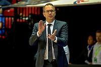 GRONINGEN - Basketbal, Donar - Weert, Dutch Baketball League, seizoen 2018-2019, 07-10-2018, Donar coach Erik Braal