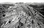 Coal mine in Manchuria. (Photo by Kingendai/AFLO)
