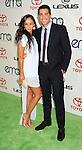 BURBANK, CA - SEPTEMBER 29: Cara Santana and Jesse Metcalfe arrive at the 2012 Environmental Media Awards at Warner Bros. Studios on September 29, 2012 in Burbank, California.