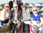 Anne Coleman, Mal and Myra Caffrey and Carmel Carroll at the Seafood Rocks festival in Clogherhead. Photo:Colin Bell/pressphotos.ie