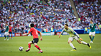 Goalkeeper Manuel Neuer Germany loses the goal before the goal to 0 2 the ball against Se jong Ju Korea Germany South Korea  <br /> Kazan 27-06-2018 Football FIFA World Cup Russia  2018 <br /> South Korea - Germany / Corea del Sud - Germania<br /> Foto Imago/Insidefoto