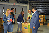 Superintendent Richard Carranza visits Delmar Fieldhouse to thank volunteers for their help.
