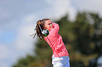 Beth Coulter (Kirkistown Castle) during the second round of the Irish Womans Open Strokeplay Championship, Co Louth Golf Club, Baltray, Drogheda, Co Louth, Ireland. 12/05/2018.<br /> Picture: Golffile | Fran Caffrey<br /> <br /> <br /> All photo usage must carry mandatory copyright credit (&copy; Golffile | Fran Caffrey)