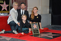 Amy Adams &amp; Aviana Olea Le Gallo &amp; Darren Le Gallo &amp; Kathryn Adams at Hollywood Walk of Fame Star Ceremony honoring actress Amy Adams.<br /> Los Angeles, USA 11th January  2017<br /> Picture: Paul Smith/Featureflash/SilverHub 0208 004 5359 sales@silverhubmedia.com