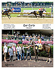 Our Carly winning at Delaware Park on 8/16/14