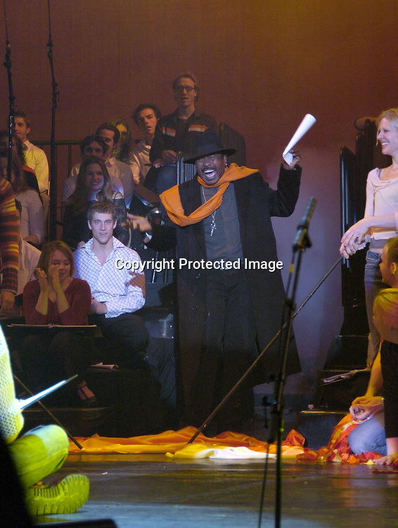 "Ben Vereen..at a performance of ""Pippin"" A Concert to Benefit The National Aids Fund and The Storm Theatre on November 29, 2004 at The Manhattan Center's Grand Ballroom...PHoto by Robin Platzer, Twin Images"