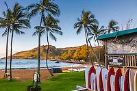 Early morning at Kalapaki Beach, Lihue, kauai, Hawaii