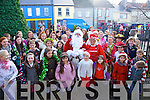 Santa and Mrs Clause visit Cahersiveen for 7th December 10% off Shopping day.