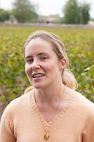Eloise Heeter-Tari. Owner. Semillon. Chateau Nairac, Barsac, Sauternes, Bordeaux, France