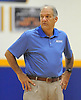 Hofstra Universit men's basketball head coach Joe Mihalich supervises an informal men's basketball team workout at the team's practice facility on Wednesday, July 22, 2015.<br /> <br /> James Escher