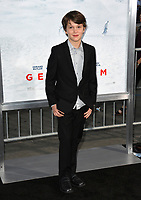 Gabriel Bateman at the premiere for &quot;Geostorm&quot; at TCL Chinese Theatre, Hollywood. Los Angeles, USA 16 October  2017<br /> Picture: Paul Smith/Featureflash/SilverHub 0208 004 5359 sales@silverhubmedia.com