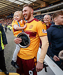 Louis Moult and daughter