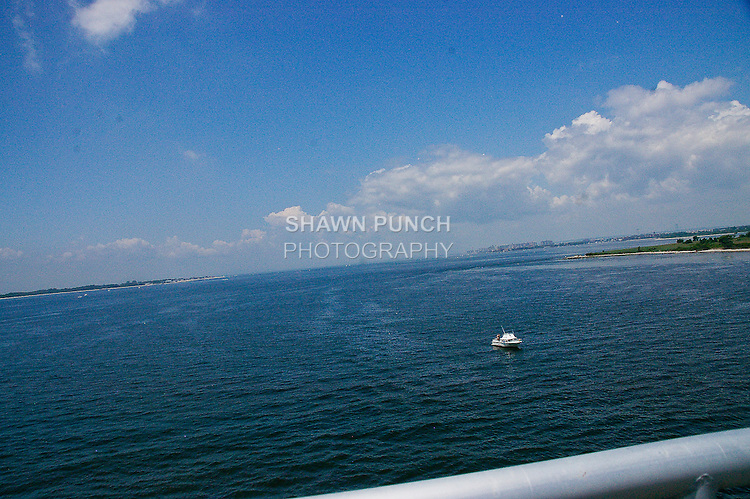 View from Marine Parkway Bridge, during my bike ride to Jacob Riis Park, June 25, 2011.