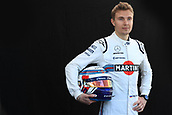 22nd March 2018, Melbourne Grand Prix Circuit, Melbourne, Australia; Melbourne Formula One Grand Prix, Arrivals and Press Conference; Williams Martini Racing; Sergey Sirotkin