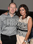 Steven and Tricia Farrell celebrating their 20th wedding anniversary in Brú. Photo:Colin Bell/pressphotos.ie