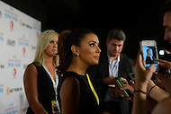 "September 6, 2012  (Washington, DC) Actress Eva Longoria, best known for her role on Desperate Housewives, walked the red carpet at a Flo Rida concert sponsored by ""Got Your 6.""   (Photo by Don Baxter/Media Images International)"