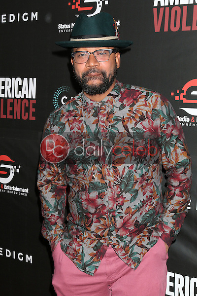 """Columbus Short<br /> at the """"American Violence"""" World Premiere, Egyptian Theater, Hollywood, CA 01-25-17<br /> David Edwards/DailyCeleb.com 818-249-4998"""