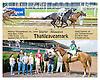Thatlleaveamark winning at Delaware Park on 6/14/12
