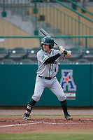 Dartmouth Big Green second baseman Sean Sullivan (4) at bat during a game against the USF Bulls on March 17, 2019 at USF Baseball Stadium in Tampa, Florida.  USF defeated Dartmouth 4-1.  (Mike Janes/Four Seam Images)