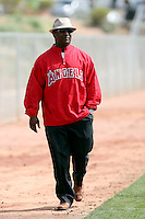 Tony Reagins - General Manager. Los Angeles Angels spring training workouts at Diablo Stadium complex, Tempe, AZ - 03/02/2010.Photo by:  Bill Mitchell/Four Seam Images.