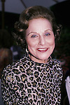 """Anne Landers in Los Angeles 1986..Pauline Friedman Phillips who, under the name Abigail Van Buren, wrote the long-running """"Dear Abby"""" advice column followed by millions of newspaper readers throughout the world, has died. She was 94..Publicist Gene Willis of Universal Uclick said Phillips died Wednesday after a long battle with Alzheimer's disease."""