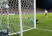 21 July 2010:  Bolton Wanderers defender Gary Cahill No. 5 scores on a penalty kick during the Carlsberg Cup game between the Bolton Wanderers and Toronto FC at BMO Field in Toronto..Bolton Wanderers FC  won on penalties.