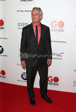 Los Angeles, CA - NOVEMBER 05: Robert F. Kennedy, Jr. at The 10th Annual GO Campaign Gala in Los Angeles At Manuela, California on November 05, 2016. Credit: Faye Sadou/MediaPunch