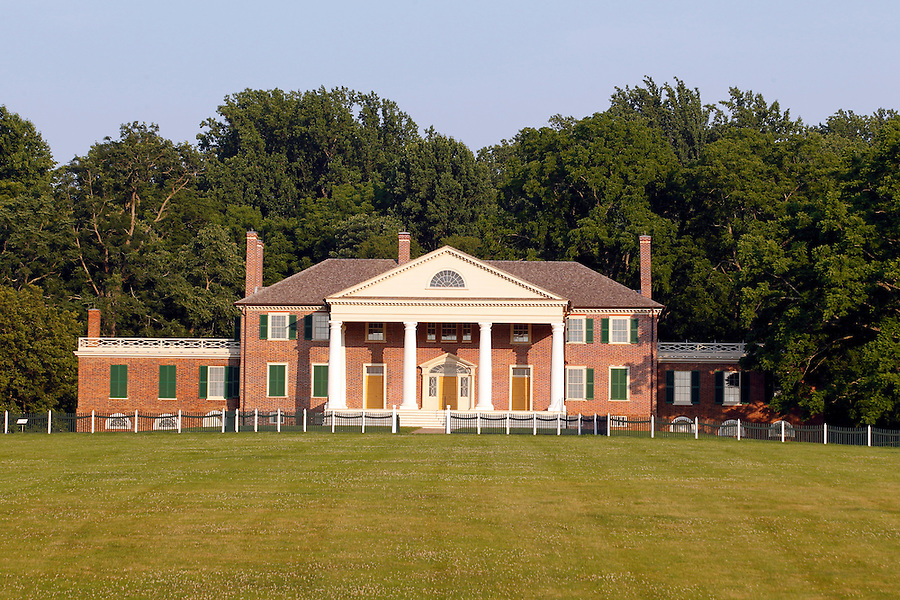 Montpelier, the home of President James Madison in historical Orange County, VA. Photo/Andrew Shurtleff
