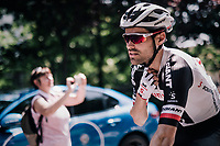 Tom Dumoulin (NED/Sunweb) at the race start in Abbiategrasso<br /> <br /> stage 18: Abbiategrasso - Pratonevoso (196km)<br /> 101th Giro d'Italia 2018